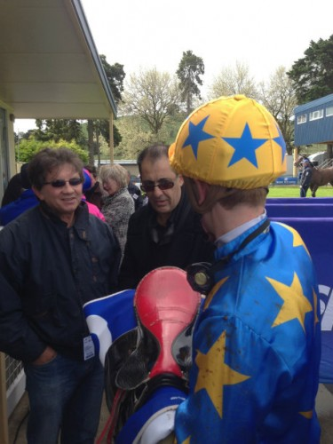 jockey racehorse